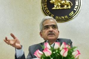 Reserve Bank of India (RBI) Governor Shaktikanta Das interacts with the media at the RBI office, in New Delhi on January 7.