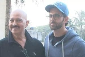 Hrithik Roshan tweeted about his father's cancer diagnosis on Tuesday.