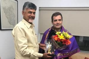 Telugu Desam Party chief Chandrababu Naidu, who has taken a lead role in building an opposition front against the BJP, arrived in the national capital to attempt to cement ties with the Congress