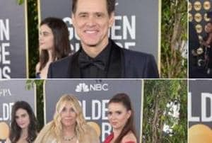 Fiji Water Girl has emerged as the real star of 76th Golden Globes.