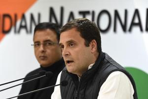 Congress president Rahul Gandhi met party leaders from Punjab including CM Amarinder Singh to discuss preparations for the upcoming LSpolls, Monday, January 7, 2019.
