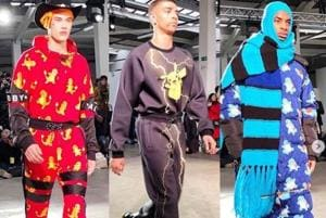 British designer Bobby Abley cemented his reputation for playfulness by mining Japanese cartoon phenomenon Pokémon for inspiration.