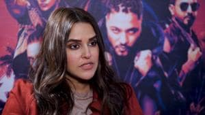 Neha Dhupia at the auditions of reality show Roadies Real Heroes in Delhi.