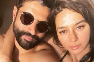 Farhan Akhtar and Shibani Dandekar regularly share loved-up pictures with each other.