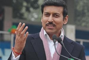 Rajyavardhan Singh Singh Rathore was the chief guest at the Police Families Welfare Society's event where he talked about the importance of sports in developing one's personality.