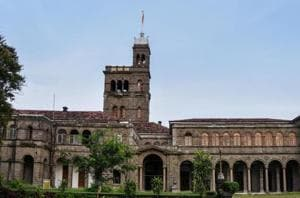 Savitribai Phule Pune University's main building in Pune