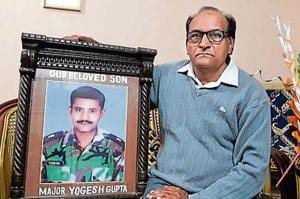 Major Yogesh Gupta, of the 25th battalion of the Madras Regiment, lost his life fighting a gun battle with terrorists in Jammu and Kashmir's Surankote, after killing 5 terrorists.