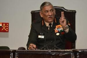 General Bipin Rawat said there is no cause of concern on the western and northern fronts and the force is gradually moving forward to bring the situation in control in the restive state of Kashmir.