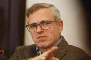 File pic of former J-K chief minister Omar Abdullah