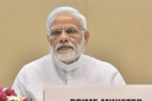 "Prime Minister Modi said a strong NDA was ""an article of faith for us""."