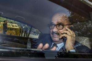 Central Bureau of Investigation (CBI) chief Alok Verma arrives at CBI headquarters, after he was reinstated by the Supreme Court, in New Delhi on January 9.