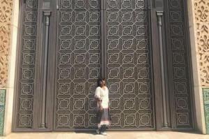 Singer Shilpa Rao in Casablanca, Morocco. (Instagram)