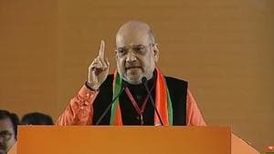Amit Shah: BJP committed to build Ram temple, Congress causing hurdles