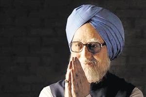 Anupam Kher in the film, The Accidental Prime Minister, which is based on a book by Sanjaya Baru.