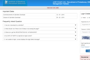 IBPSPOMTInterview call letter released at ibps.in