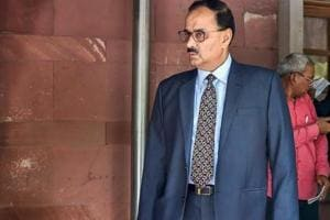 In this file photo dated July 30, 2018, shows Central Bureau of Investigation Chief Alok Verma at Supreme Court in New Delhi. The Supreme Court reinstated Alok Kumar Verma as CBI Director and set aside the Centre