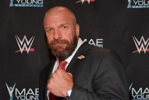 """File image of WWE Executive Vice President of Talent, Live Events and Creative Paul """"Triple H"""" Levesque."""