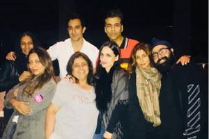 KaranJohar shared this picture too as his Instagram story as Bollywood set celebrated Kajal Anand's birthday.
