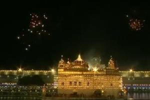 Golden Temple lights up for Prakash Parv of Guru Gobind Singh