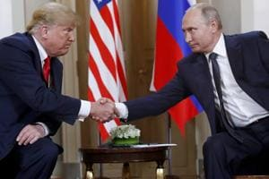 U.S. President Donald Trump faces a new row after a report that he kept details of his two meetings with Russian President Vladimir Putin away from even his senior officials (AP File Photo)