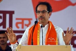 Shiv Sena chief Uddhav Thackeray hit back at BJP president Amit Shah for saying those do not ally with the party will be thrashed in the coming elections  (File Photo)