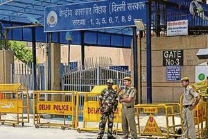 With the addition of the cameras, Tihar officers said there would be no blind spot left inside the 400-acre prison complex.