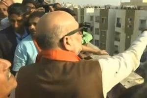 Amit Shah celebrates Makar Sankranti, flies kites in Ahmedabad