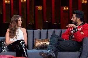 Abhishek Bachchan and Shweta Bachchan will be seen together on Koffee With Karan.