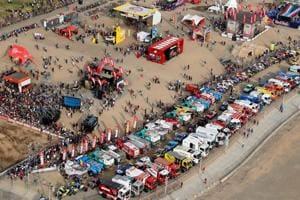 Photos: Ripping through unending dunes at the 2019 Peru Dakar Rally