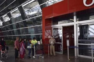 The CISF, which is responsible for security at Delhi's IGI Airport, has tightened security checks at terminals, with passengers being asked to take off their coats, jackets, belts, boots or caps for detailed frisking.
