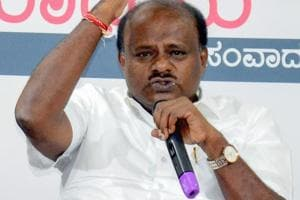 Karnataka chief minister HD Kumaraswamy downplayed the threat, as ha has all though his reign as CM, and claimed that the three MLAs were in touch with him
