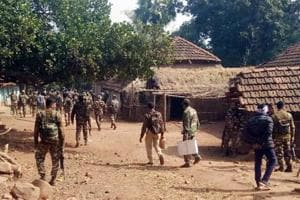 Security force carry out search operations after the encounter.