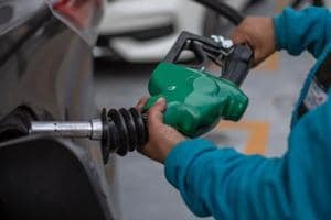 Petrol price breached the Rs 70 a litre-mark and diesel crossed Rs 64-mark Monday after rates were hiked for the fifth consecutive day on rising input cost.