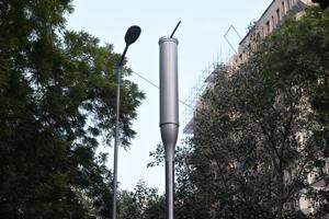 NDMC had earlier installed 55 smart poles in the city which also serve as air quality monitors.