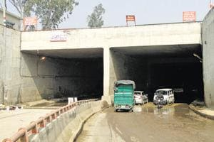 The MCDhad constructed an underpass between Mundka and Rani Khera in 2013 to ease traffic on main road in west Delhi.