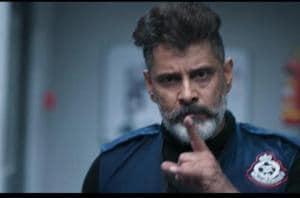 Kadaram Kondan teaser:Actor Vikram plays a hired gun in the film.