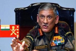 The Indian Army will not hesitate to take strong action to deal with terror activities along the border with Pakistan, Army chief Gen Bipin Rawat said on Tuesday.