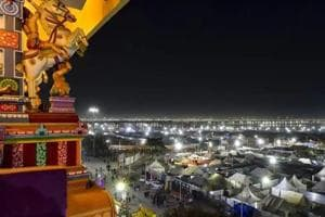 Kumbh Mela 2019: A tent city has sprung up along the river in Prayagraj, with pilgrims camped around a 45-square kilometre zone.