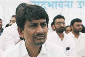Congress lawmaker and OBC leader Alpesh Thakor in Ahmedabad on 11, 2018.