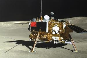 The lunar lander of the Chang