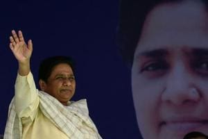 While the alliance's main battle is with the BJP, Ms Mayawati — with this position — was clearly seeking to distance herself from both parties, the BJP and the Congress