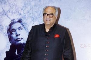 Filmmaker Boney Kapoor at late poet Kaifi Azmi