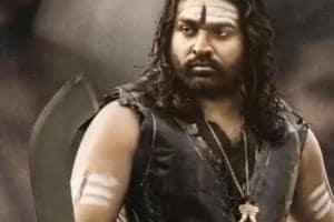 VijaySethupathi as Raaja Paandi in Sye Raa Narasimha Reddy.