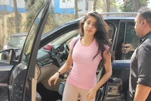 Janhvi Kapoor spotted at Mumbai.