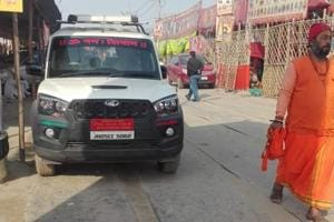 Seers, saints and their swanky rides on high-end vehicles in Kumbh