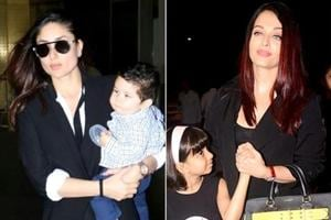 Kareena Kapoor Khan, Aishwarya Rai Bachchan and Karisma Kapoor are known for their impeccable airport style. (Instagram)