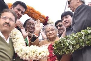 Sheila Dikshit took over as Delhi Congress chief on Wednesday.