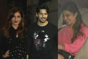 Jacqueline, Katrina & others attend Siddharth Malhotra's b'day party