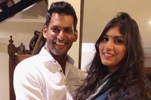 Vishal is engaged to Anisha Alla Reddy. He confirmed the news on Twitter.