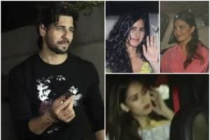 Sidharth Malhotra's birthday party on Tuesday night saw a number of Bollywood stars in attendance.
